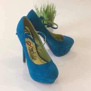 Goodness by Promise Mary Jane Platform Stiletto